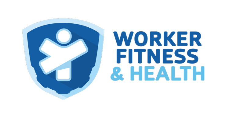 Health transparent worker. Fitness to exhibit present