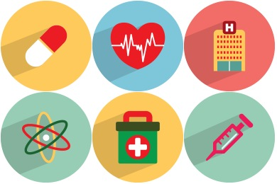 Healthcare clipart health icon. Medical icons