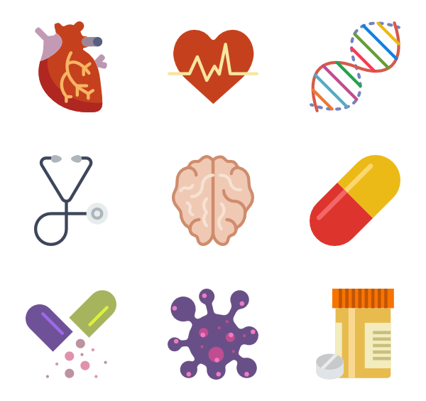 Healthcare clipart medical specialty. Free vector icons