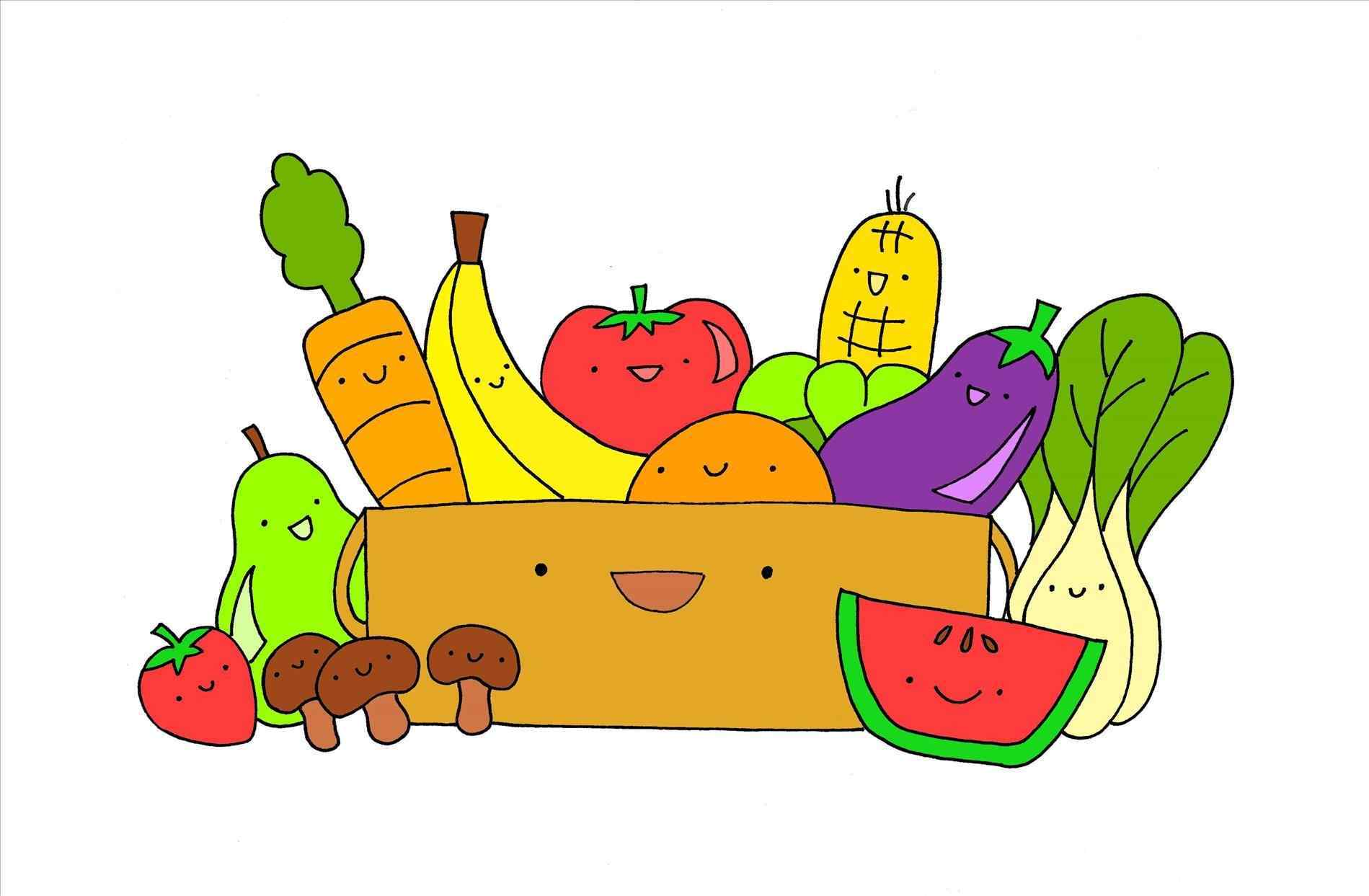 Healthy clipart healthy diet. Meal balanced food pencil