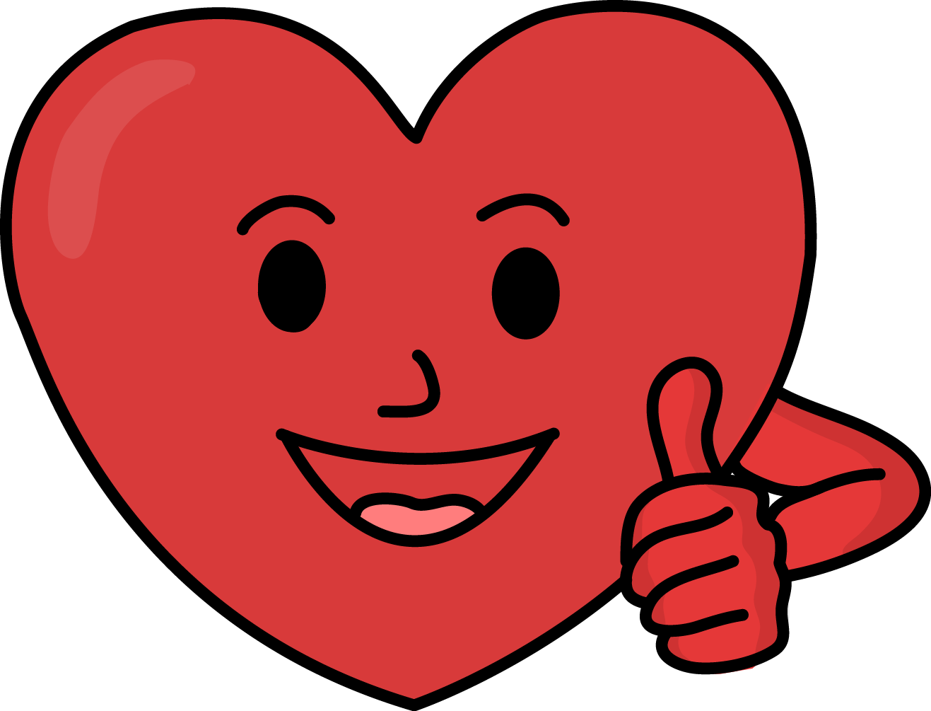 Strong heart png. Cliparts for free