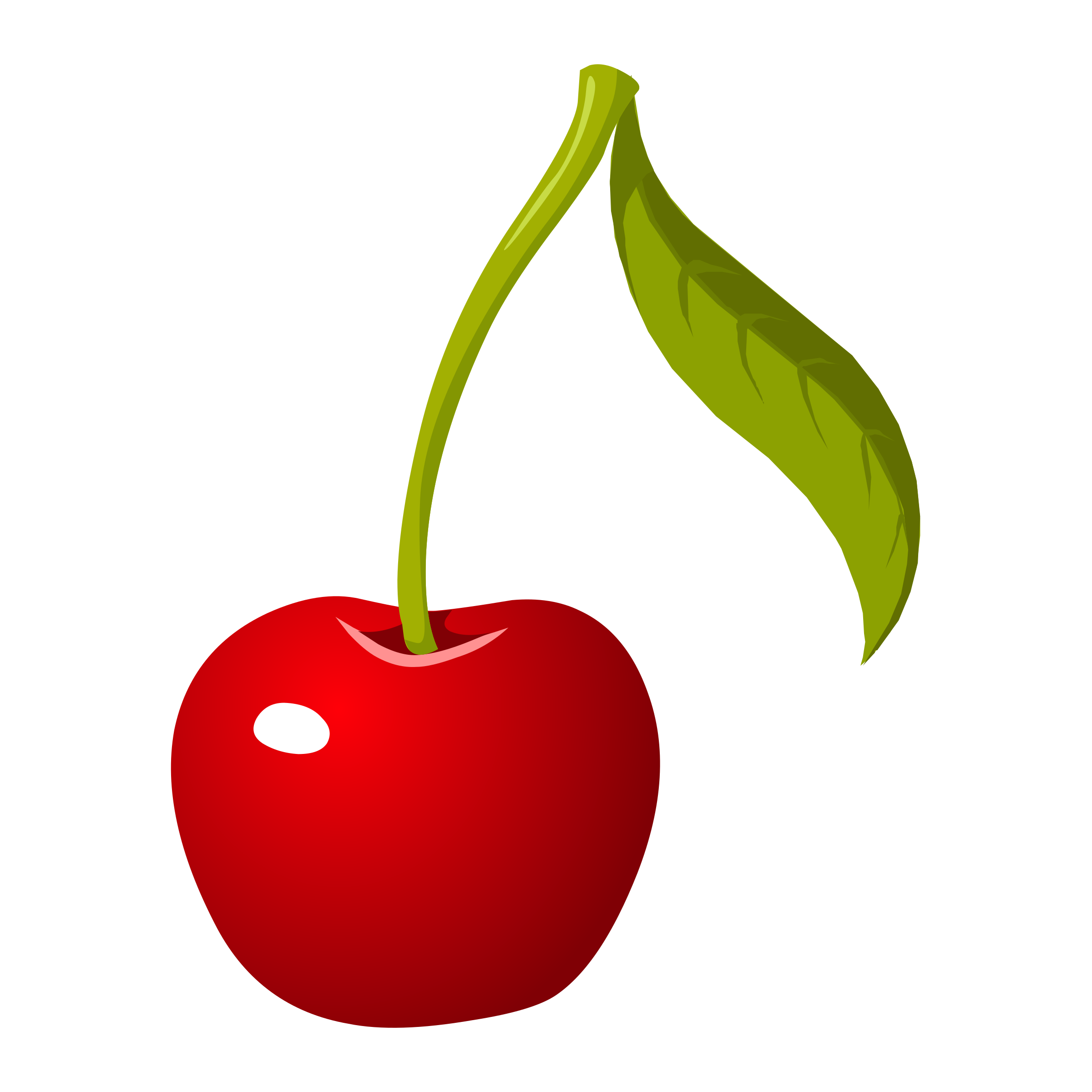 Vector fruits fruity. Food cherry by glitch