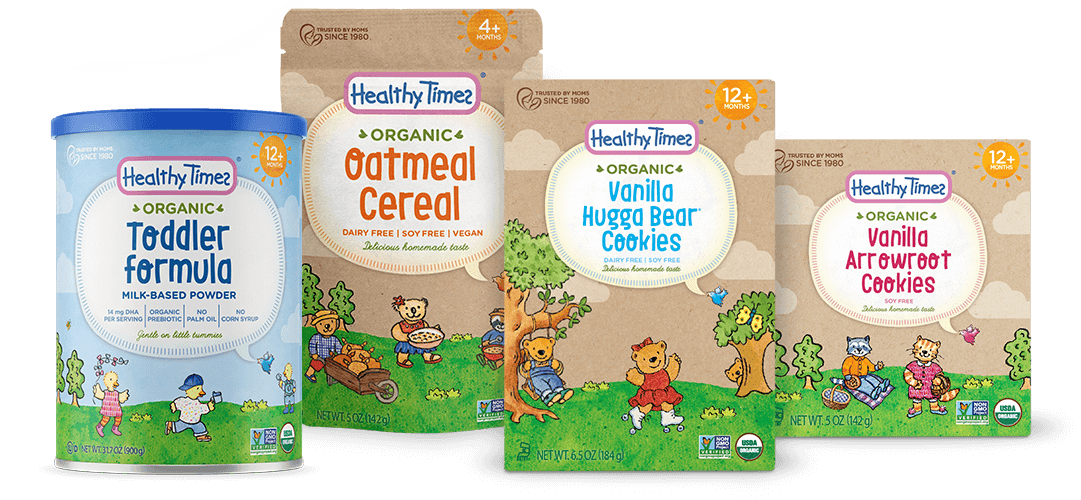 Healthy vector organic. Times baby s favorite