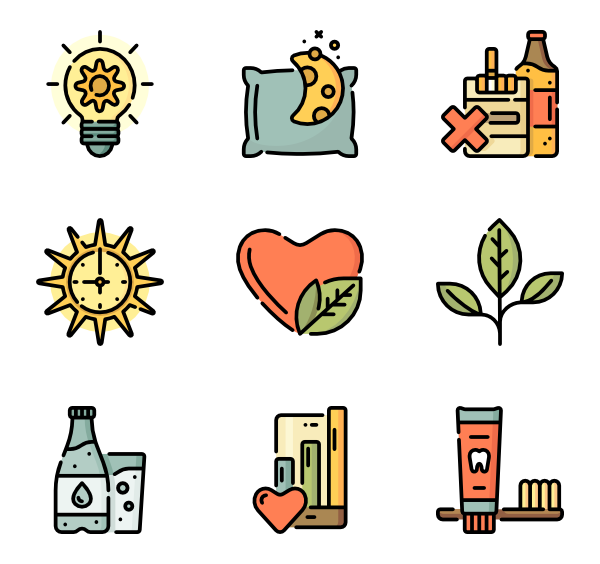 Healthy vector svg. Life and icon
