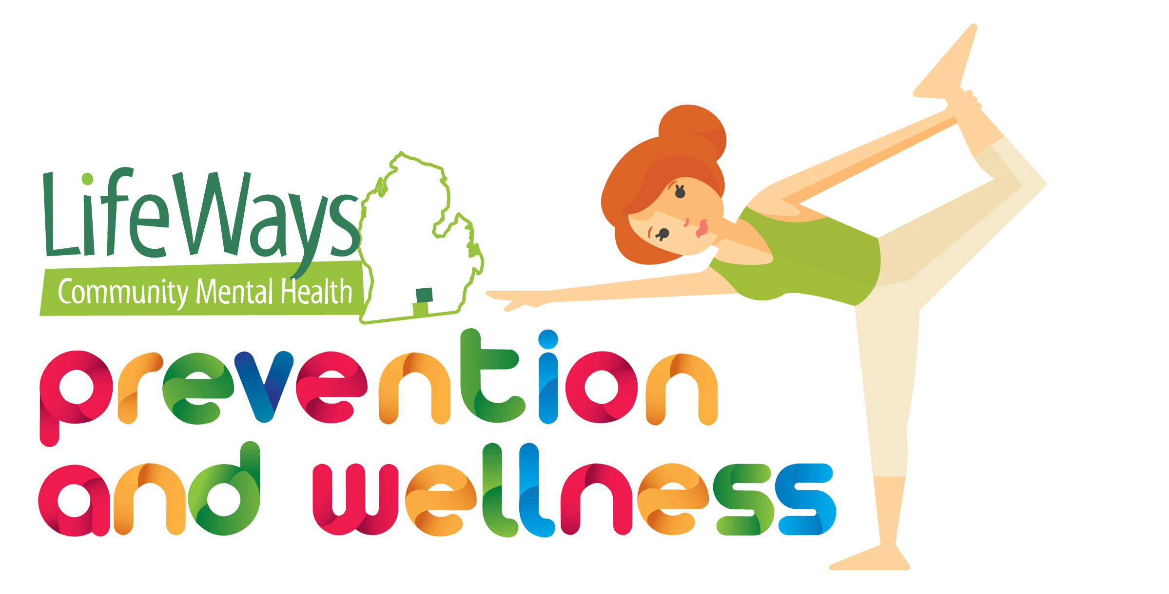 Healthy vector wellness. Prevention and logo