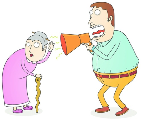 Hearing clipart hearing voice. Hard of older children