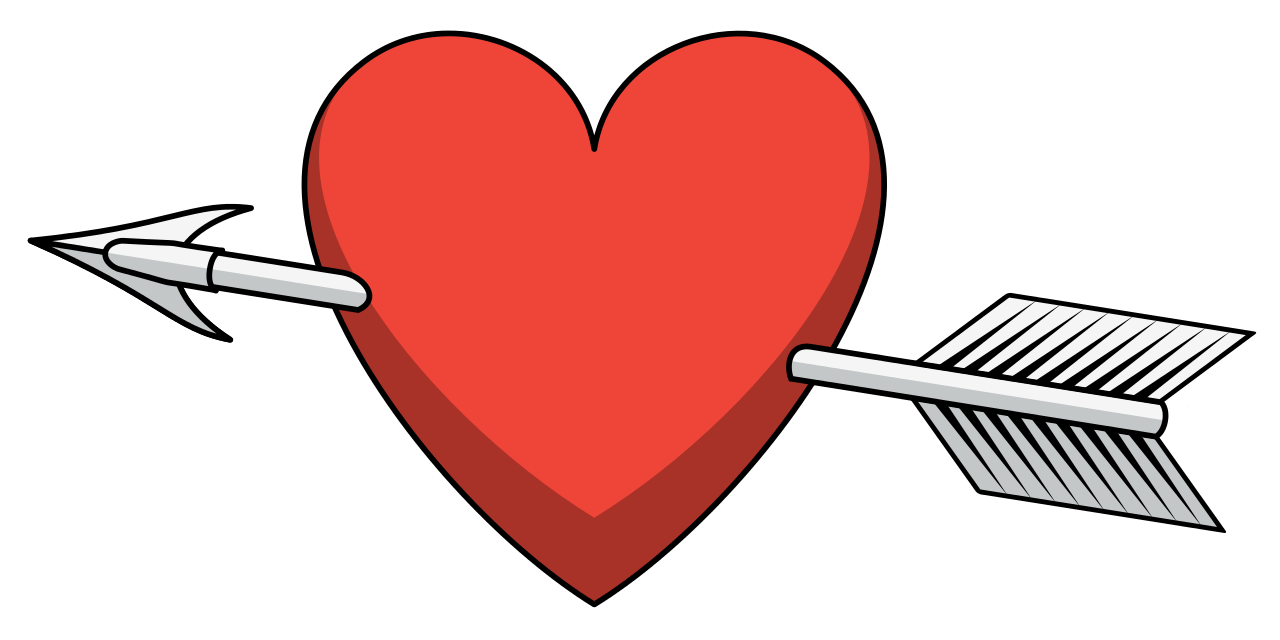 Datei shaded svg wikipedia. Heart and arrow png png royalty free download