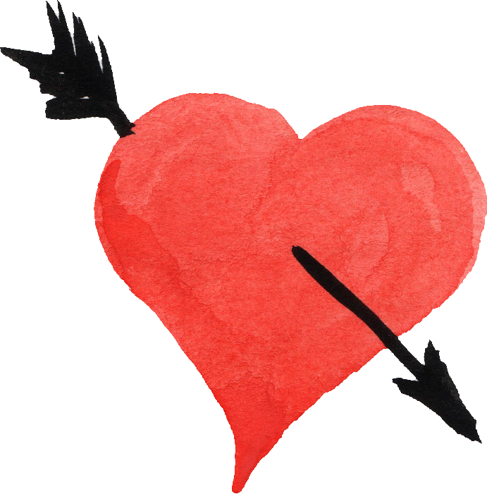 Image . Heart and arrow png clip art