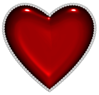 Heart art png. Red with diamonds clipart
