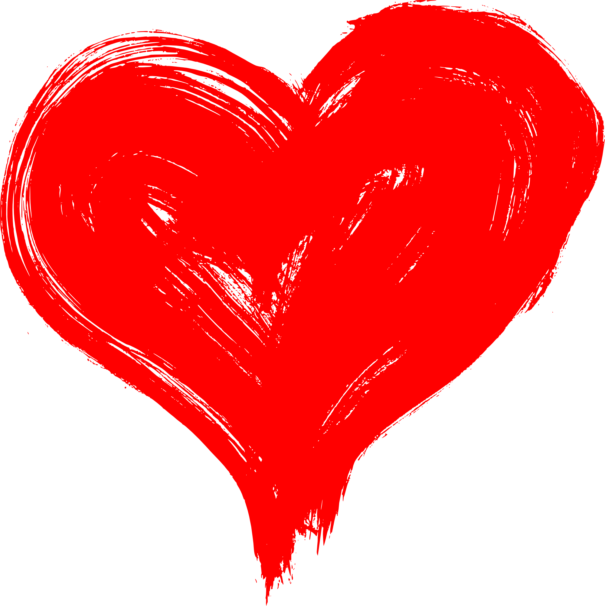 Heart art png