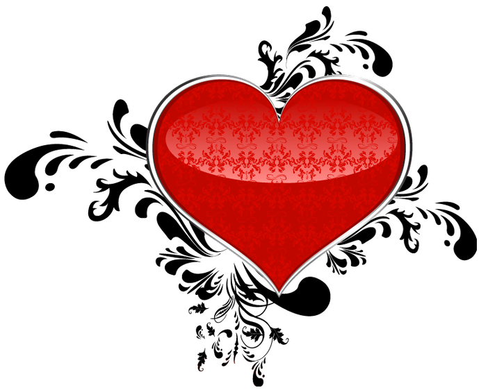 Heart art png. Red clipart gallery yopriceville