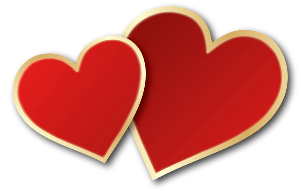 Heart background png. Valentines day image with