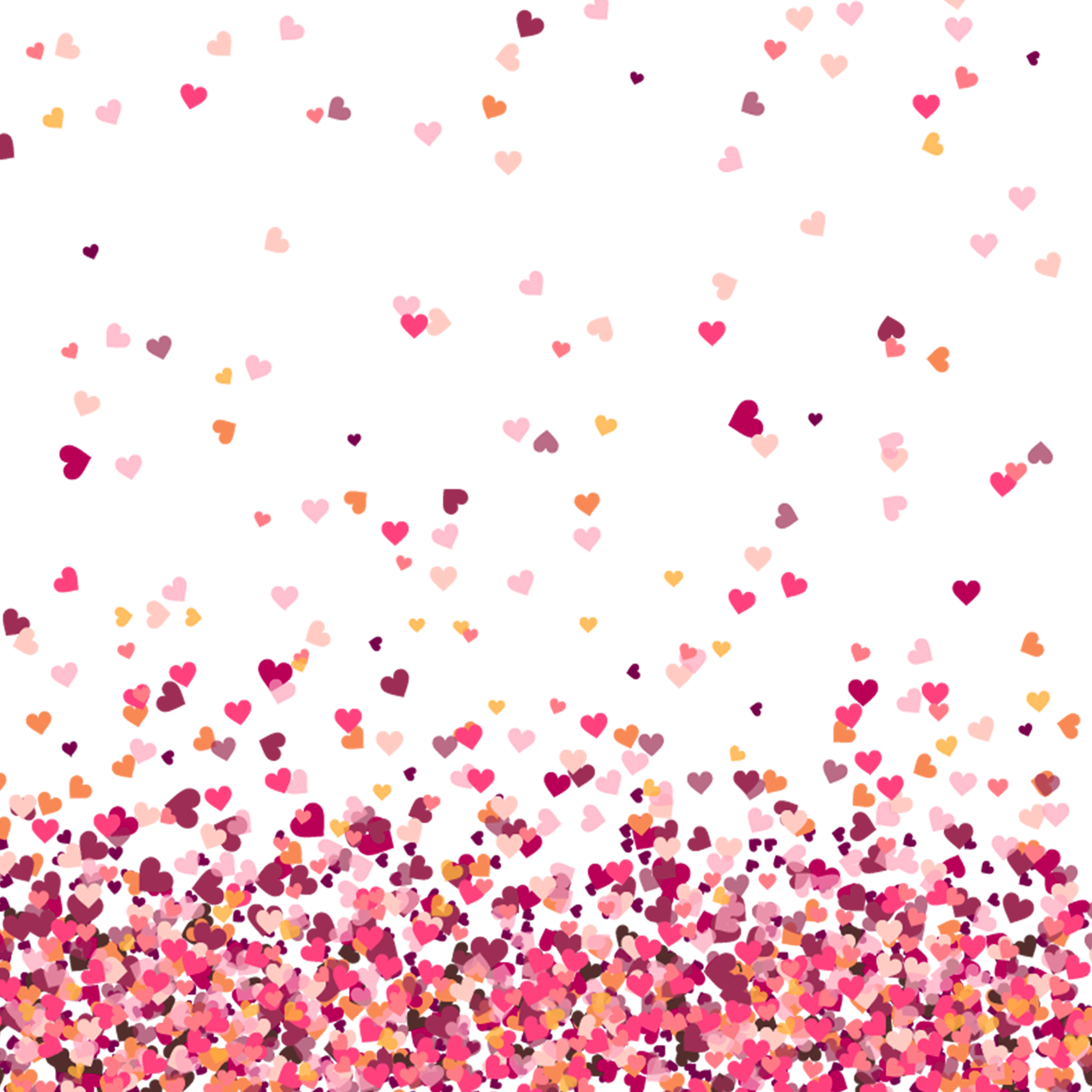 Heart background png. Colorful hd download