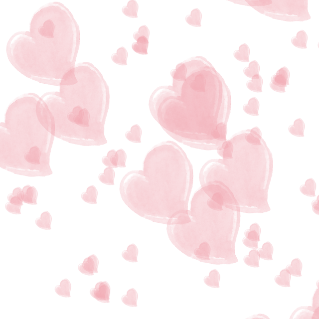 Heart background png. Pink vector and
