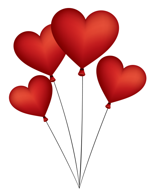 Heart Balloon PNG image