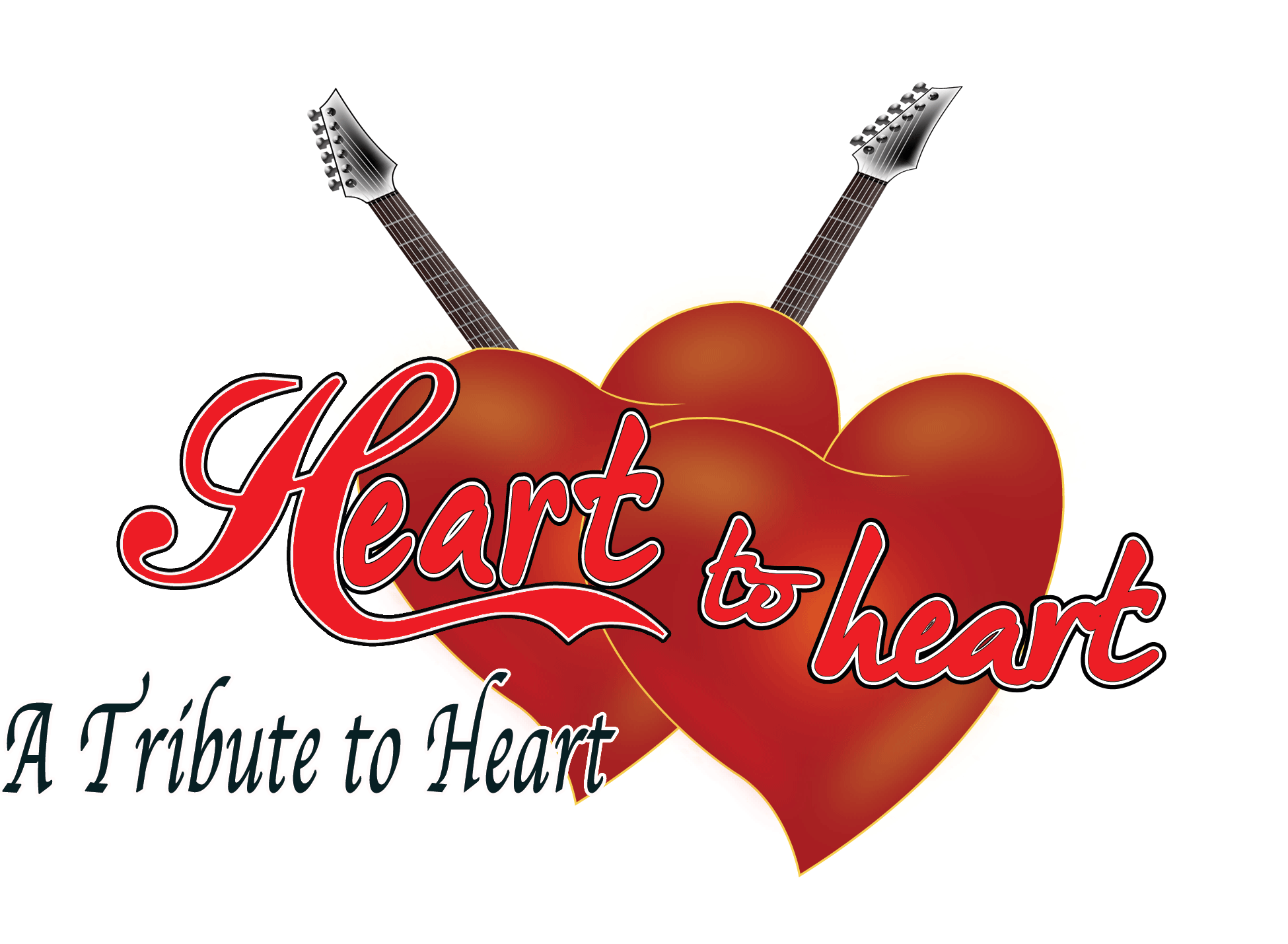 Heart band logo png. To a tribute