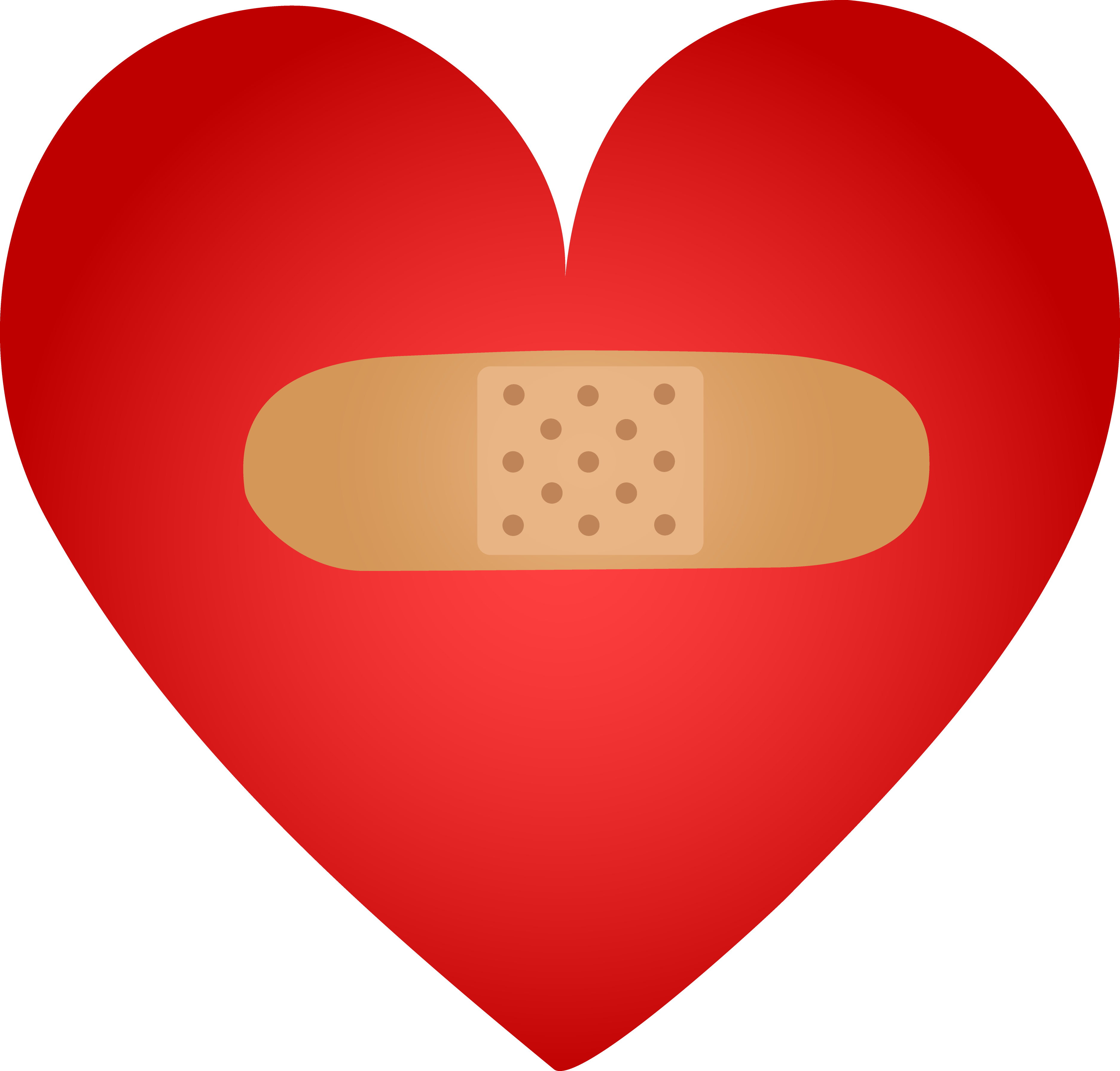 Heart band logo png. With aid clipart