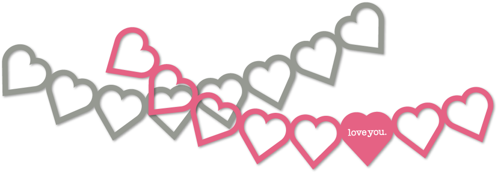 Heart banner png. Image
