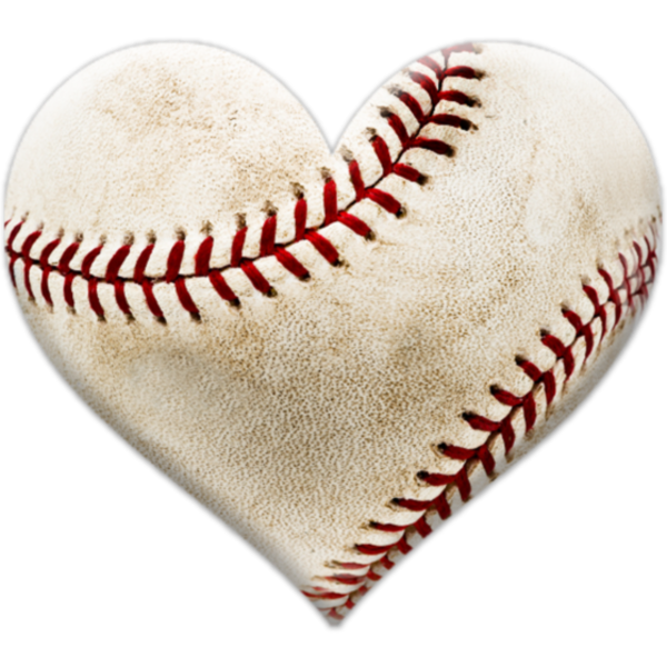 heart baseball png (600x600)