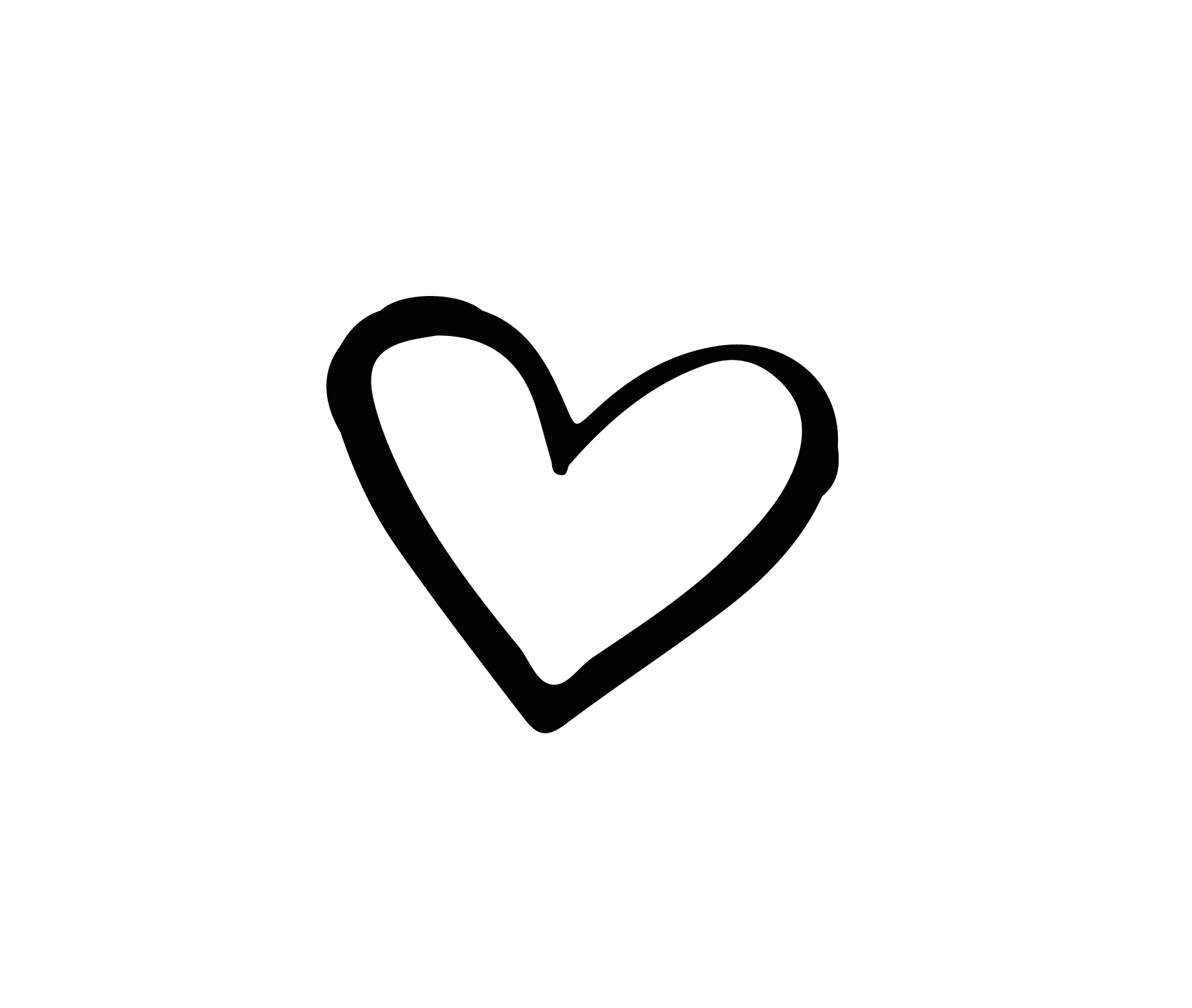 Heart black png. Brand and white hand