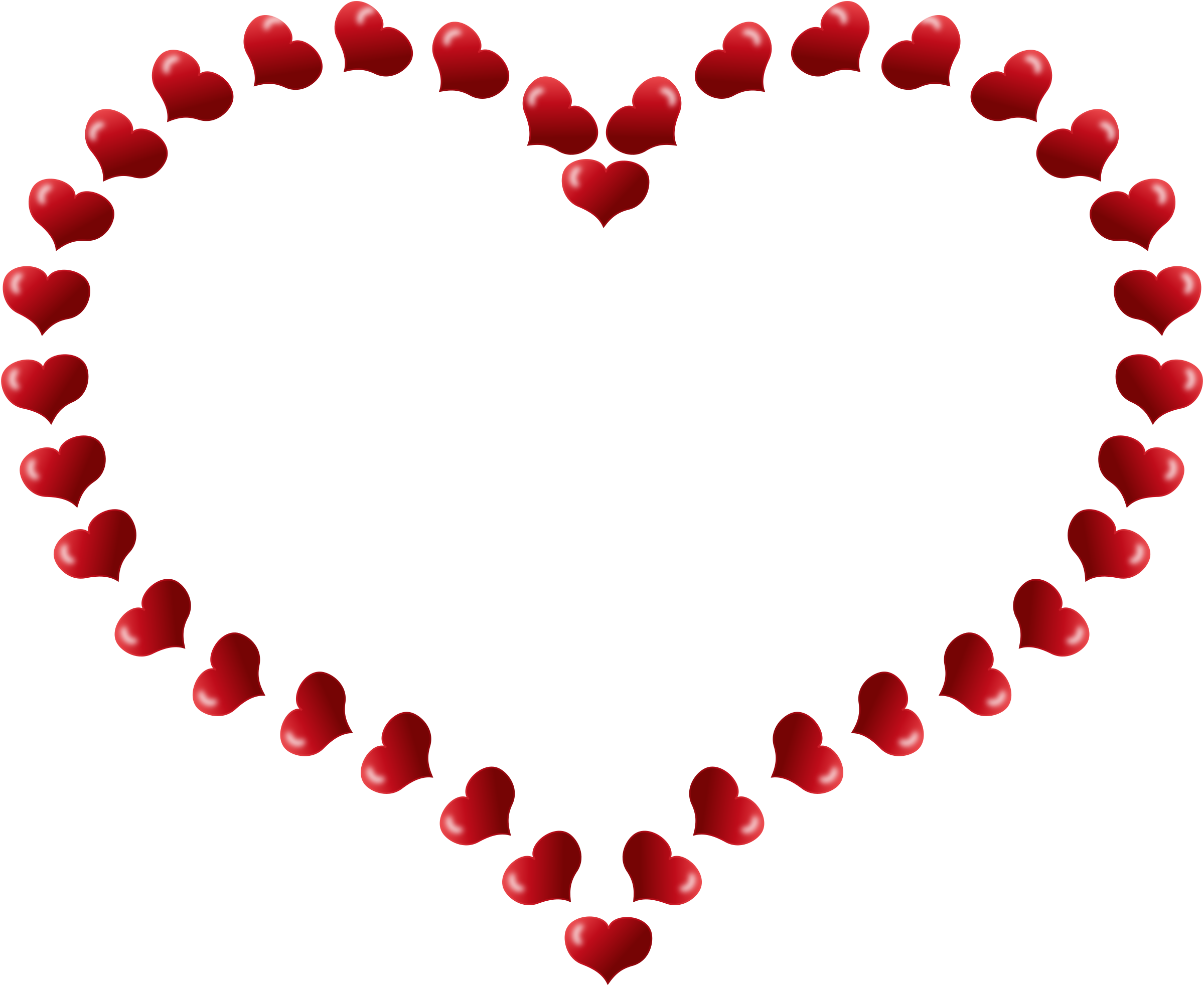 Heart shape png transparent. Red shaped border with