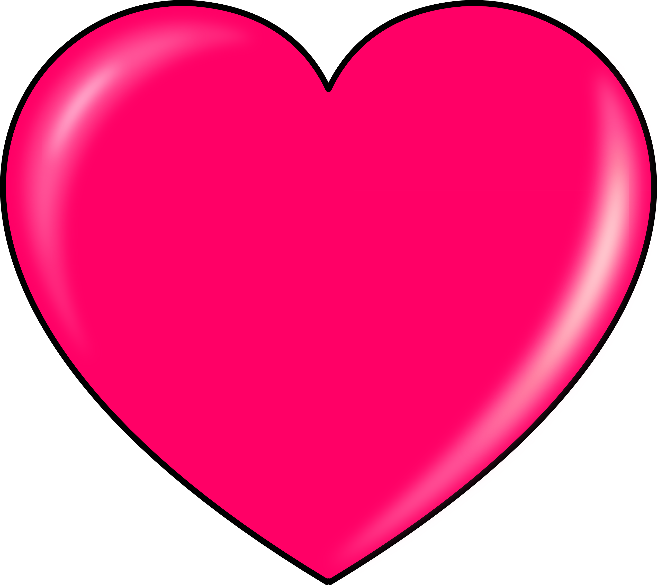 Free images download. Heart shape png transparent vector black and white download