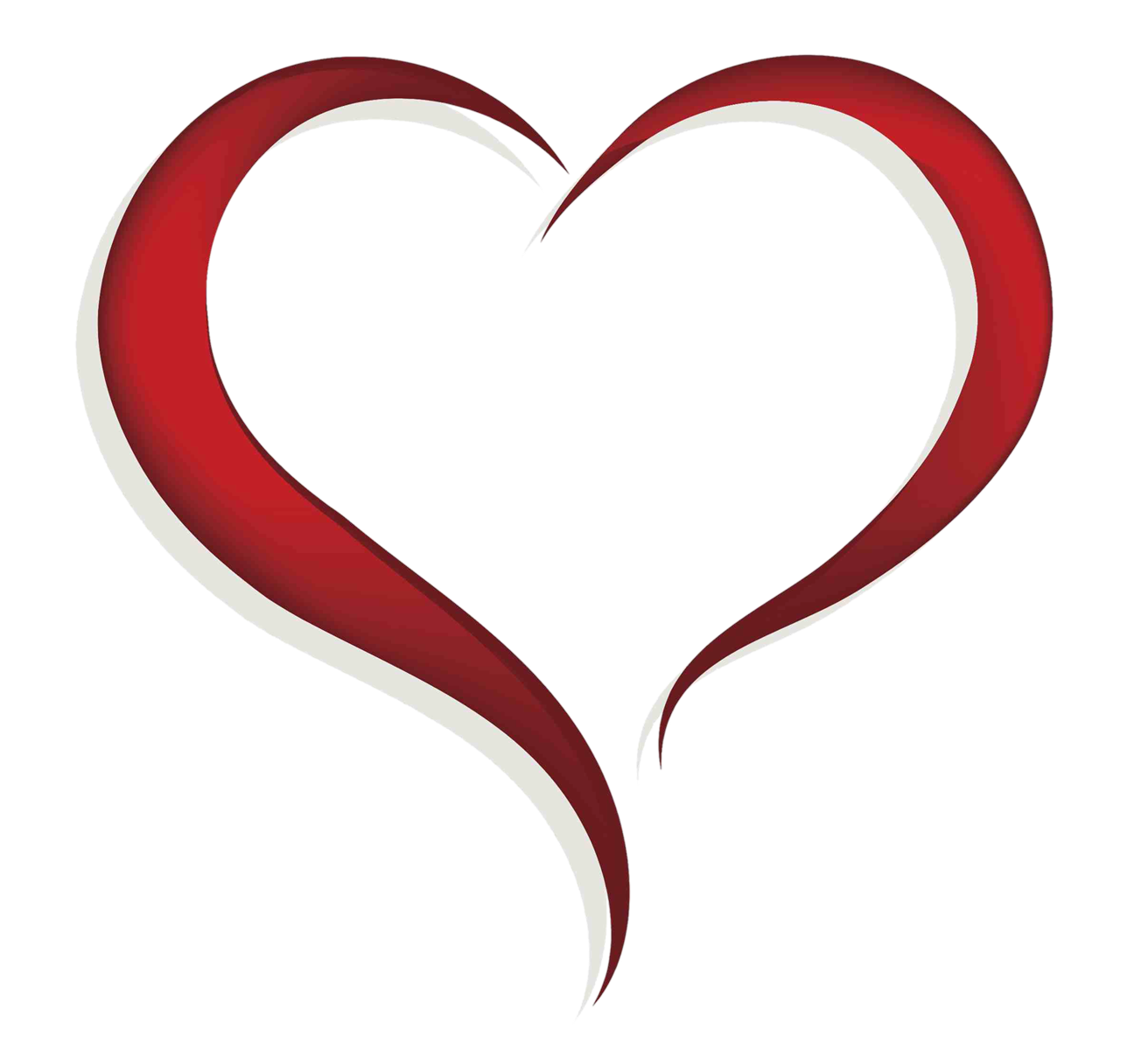 Heart clip art png. Home objects clipart image
