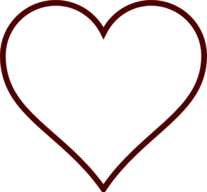 Heart clipart. Free white cliparts download