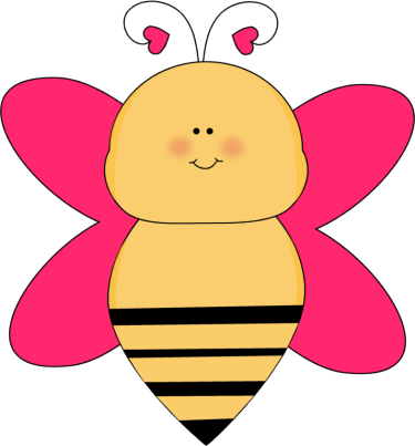 Heart clipart bee. Clip art images with