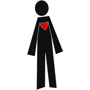 With cliparts of free. Heart clipart person clip library library