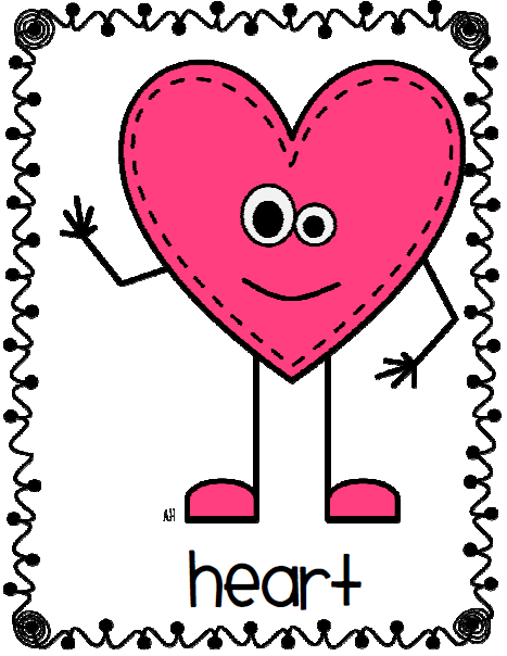 heart clipart person