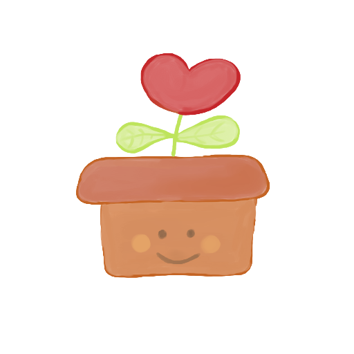 Heart clipart plant. Recycle bin empty icon