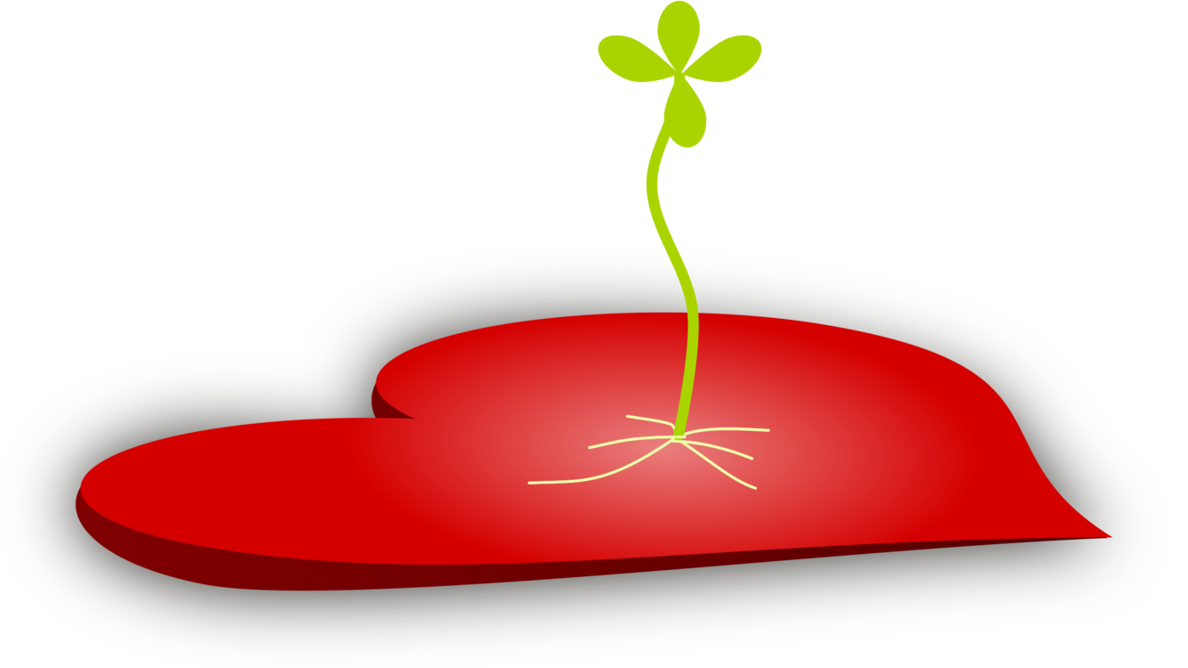 Seed plants sowing music. Heart clipart plant graphic free