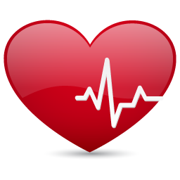 Rate . Heart clipart pulse graphic transparent download