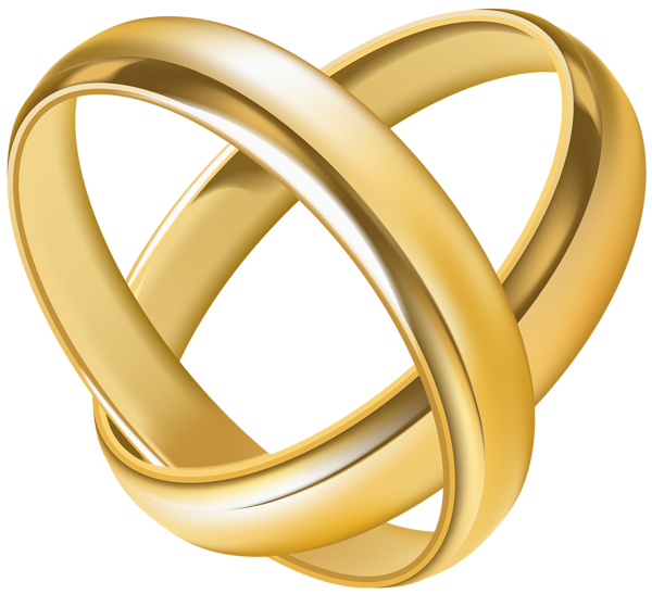 Wedding rings png images. Heart transparent clip art