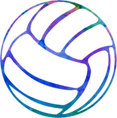 Heart clipart volleyball. Of with inside k