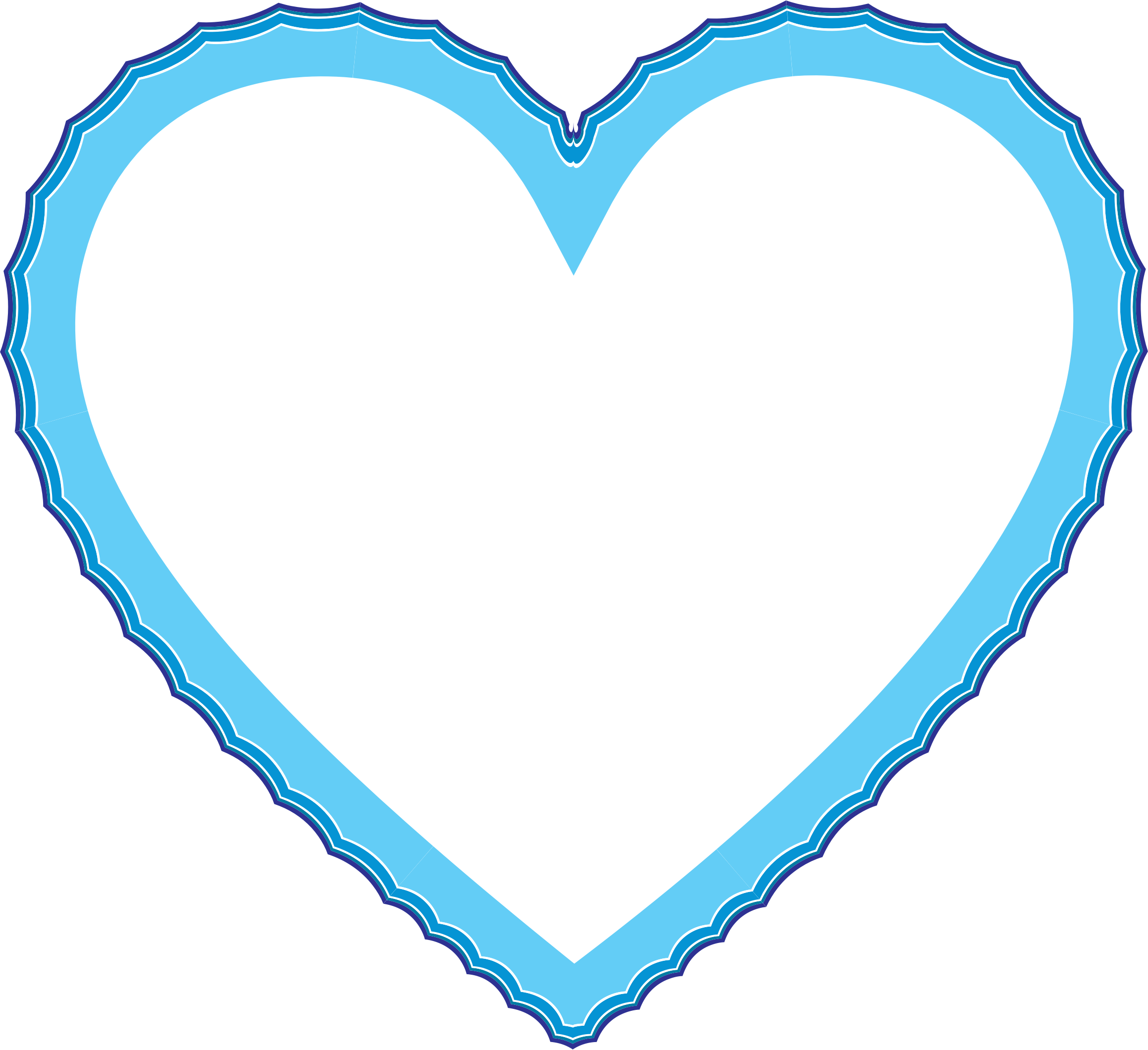 Heart clipart water. Waves frame big image
