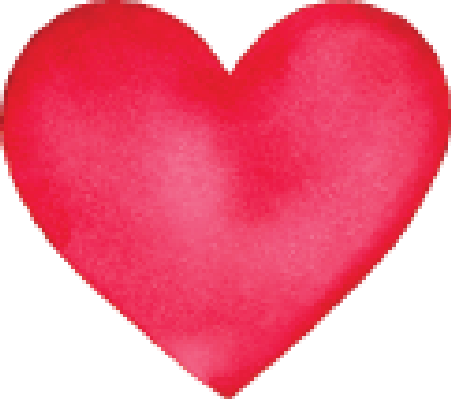 Heart clipart water. Download color hearts png