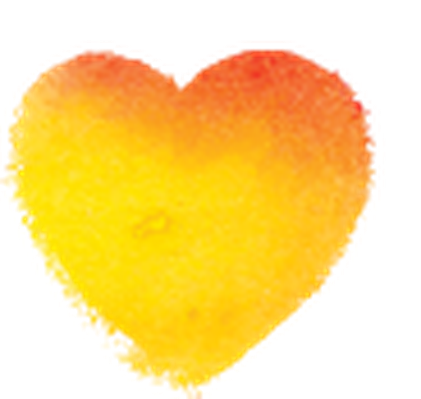 Watercolor hearts clip art. Heart clipart water banner royalty free