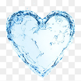 Heart clipart water. Shaped png vectors psd