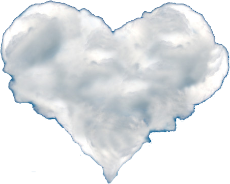 Heart cloud png. Download shaped clouds image