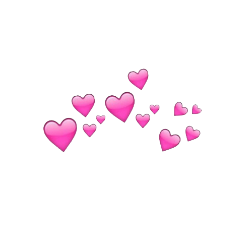 Heart crown png. Image about hearts pink