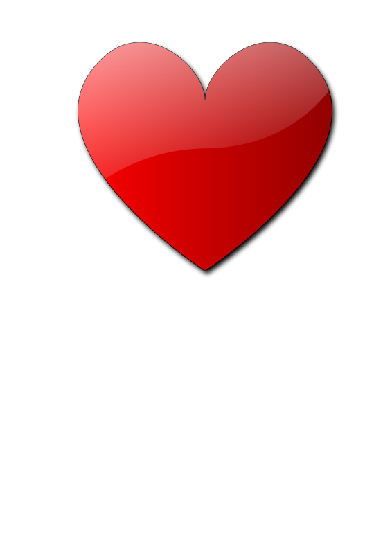 Heart Cuore. Free clipart inkscapeforum it