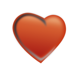Heart Cuore. Clipart i royalty free