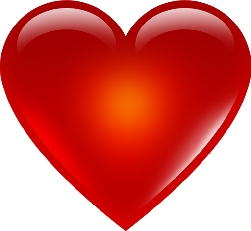 Red heart png. Free images download