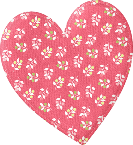 heart doily png