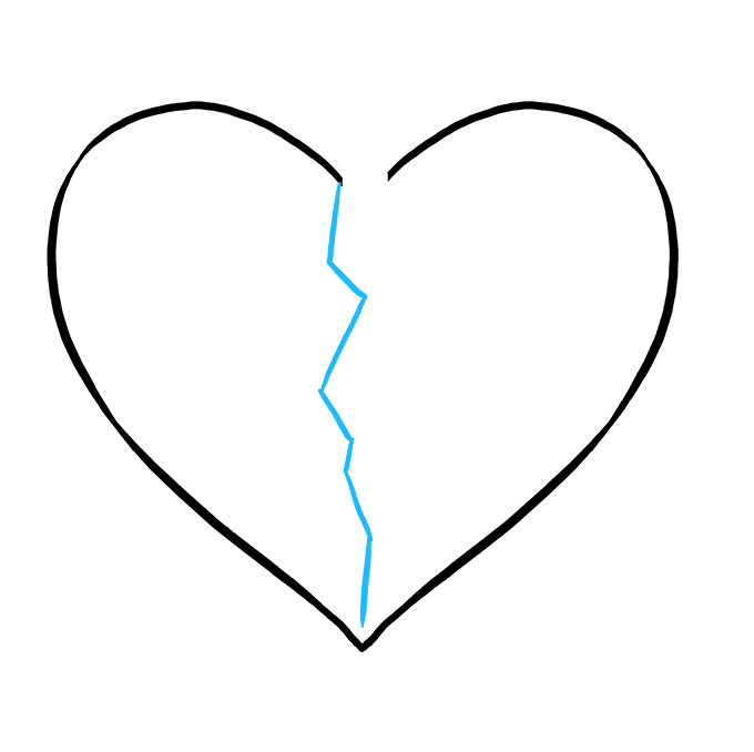 Teardrops drawing heart. Png pictures and cliparts