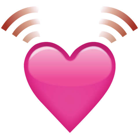 Download beating emoji island. Pink heart icon png banner freeuse stock