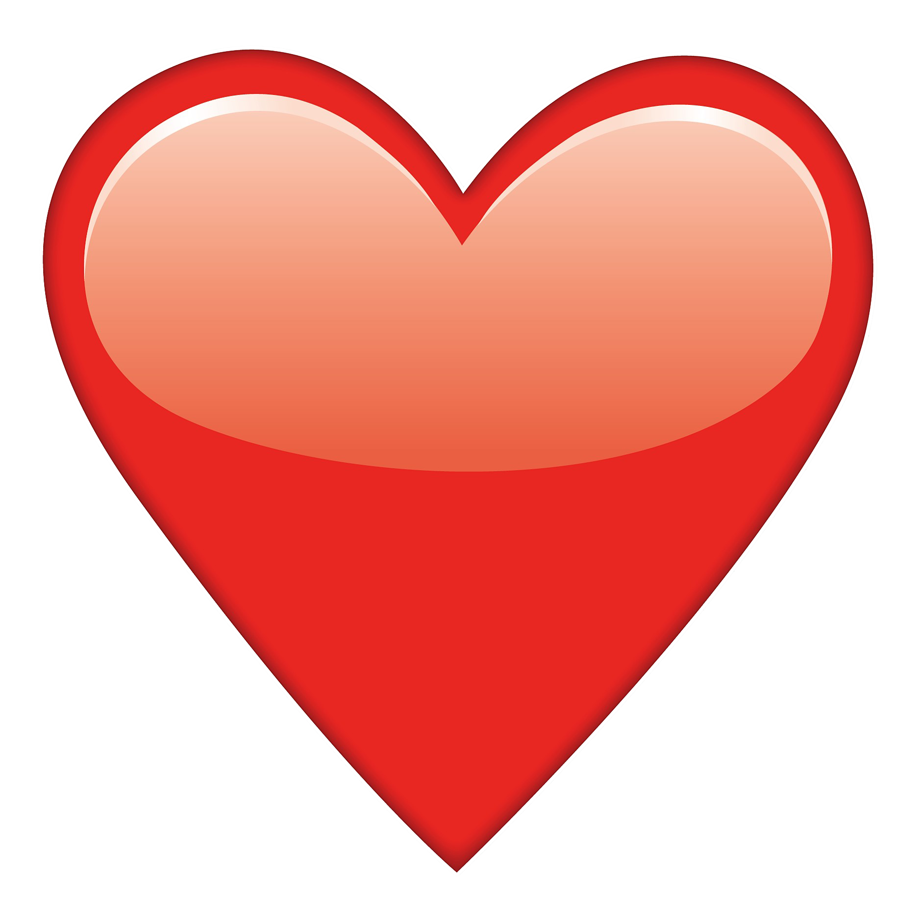 red heart emoji png