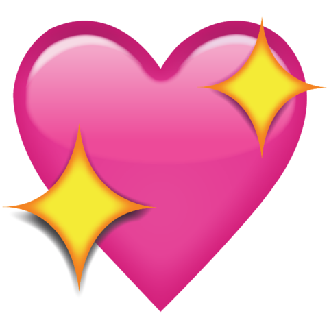 sparkle heart png